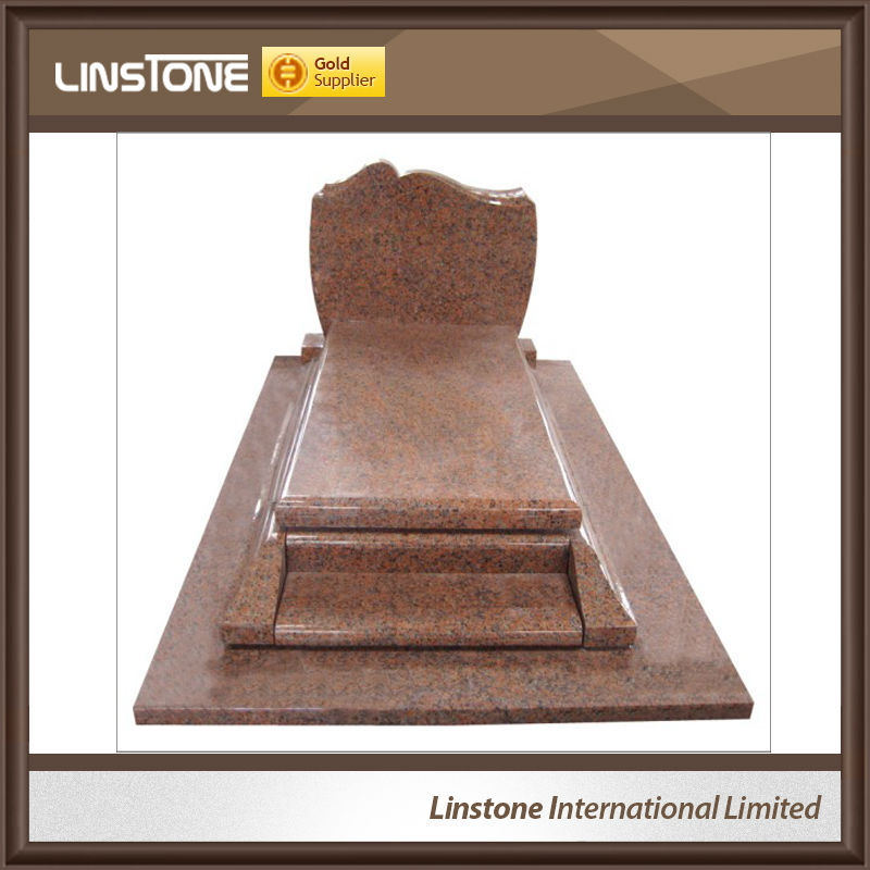 European Style G664 Granite Full Monument