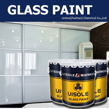 glass paint lacquer for deco glass