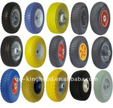Pu foam wheel FLAT FREE TIRE