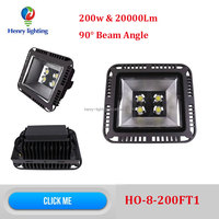 90 degree 200w LED Flood Light, Alibaba express 200w LED reflector, 200w 90 degree LED SpotLight