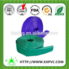 Large diameter high pressure tpu rubber Layflat hose air conditioning hose