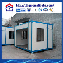 Fire resistant and low cost security cabin from China manufacturer