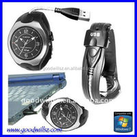 hot selling watch usb flash drive with high quality; bracelet watch with usb flahs drive