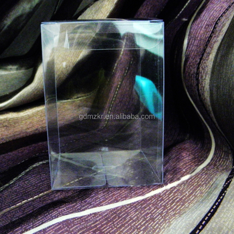 Good quality square promotional clear PVC small gift box