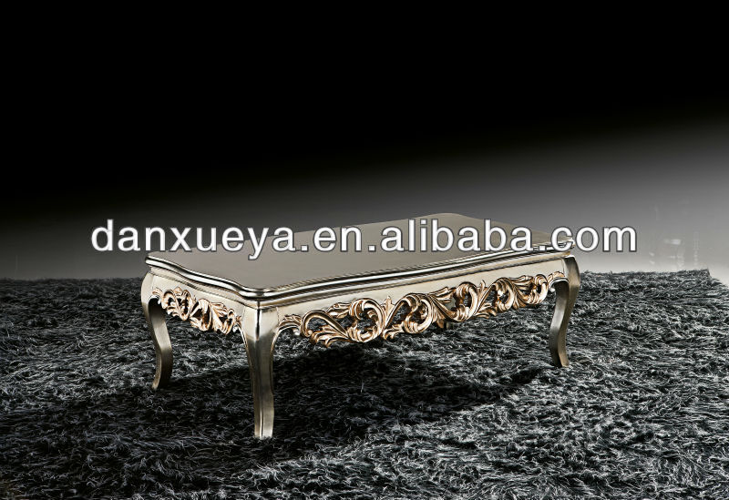 Antique hand carved coffee table center table for sofa BR-001#
