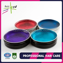 Hot sale mens hair products extra strong hold pomade water based OEM