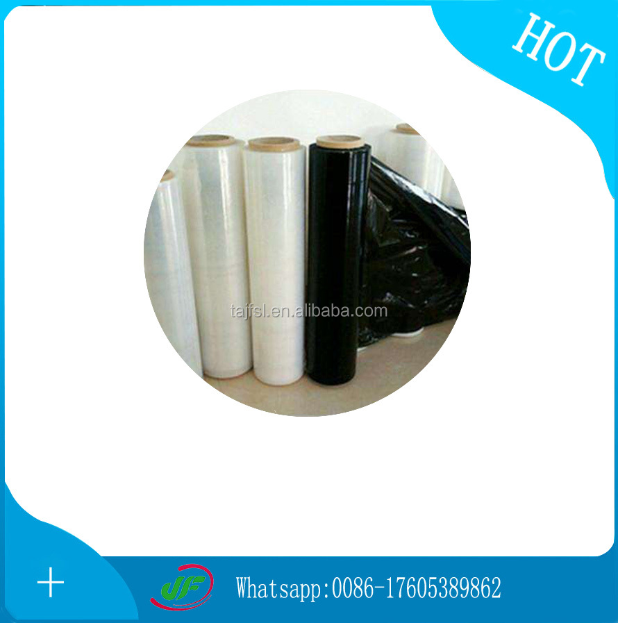Best Fresh colored plastic PVC Stretch Shrink Wrapping Film with excellent stretch