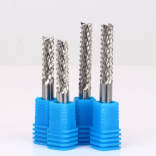 Corn Teeth CNC Router Bits Carbide End Mill Milling Drill PVC PCB Cutter