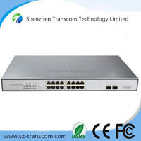 10/100/1000M 16 port gigabit poe ethernet switch/18 port 10/100/1000M poe switch gigabit for IP Camera with 16 PoE Ports/16 port