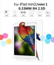 Tough Explosion Proof Real Tempered Glass Film Screen Protector For iPad Mini 1 2 Retina Display