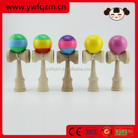 China Toy Wooden Kendama Ball with PU Painted , Promotional gifts Wholesale Kendama