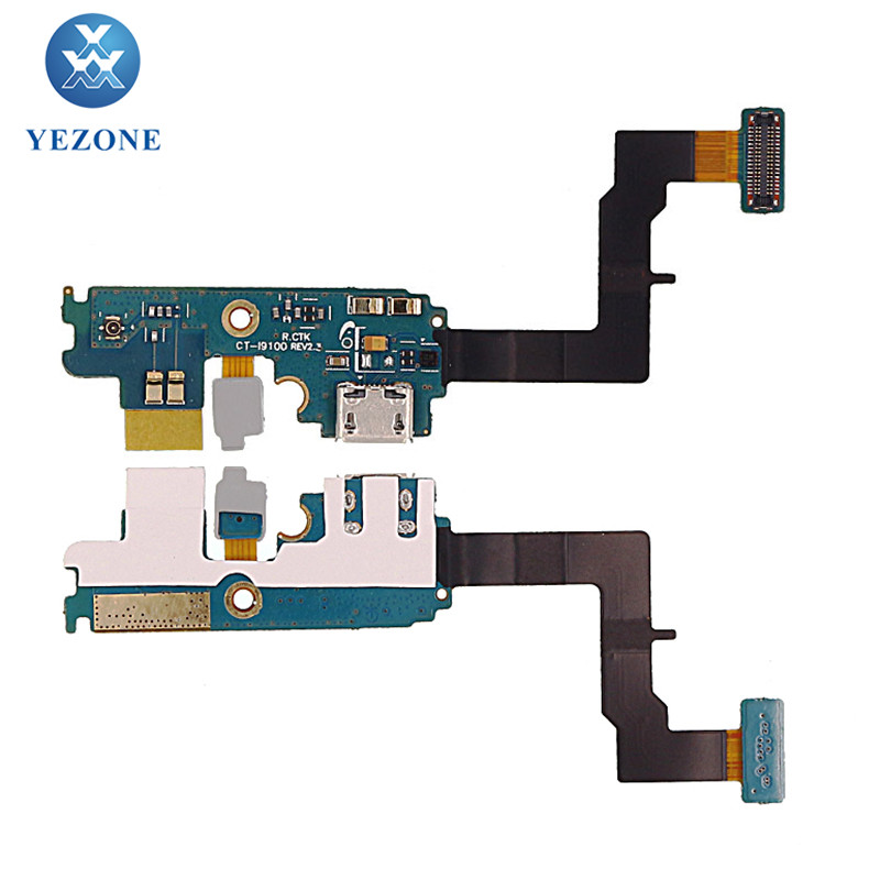 Factory Price USB Charging Port Flex For Samsung Galaxy S2 i9100, For S2 i9100 USB Charger Flex Cable