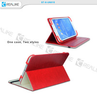 Business style diary book universal leather case for tablets