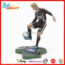 3D pvc cartoon toy football player models action figure