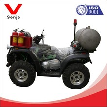 fire-fighting motorcycle with high-pressure water mist fire-fighting system
