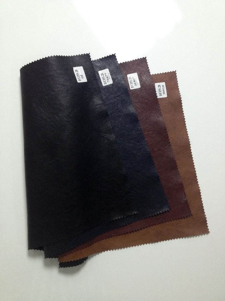china fujian supply PU Synthetic Leather for Garment