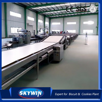 Automatic biscuit and cookies packing production line