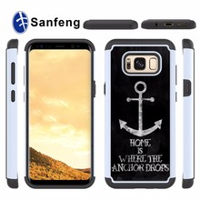 Wholesale Phone Accessories Customization Packaged For Samsung Galaxy S8 Phone Case with Designs PU Leather Skin Sticker