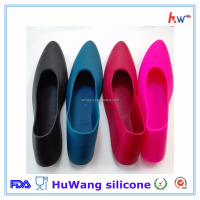 Factory wholesale colorful silicone rubber shoes