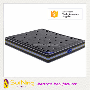 2017 latest cheap gel medical thin full foam ripple mattress