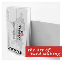High quality 250gsm paper card with customized printing