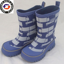 2014 Wholesale Fashion wellies rubber walmart boots for boys
