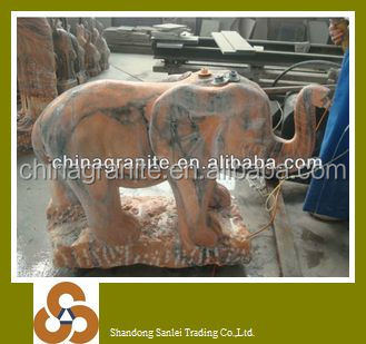 High quality stone carving indian elephant ornaments figurines prices