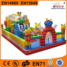 EU Standard inflatable jumper big bounce houses for sale