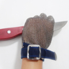 Hot EN 1082-1:1997 five fingers protection cutting stainless steel metal mesh cut resistant gloves