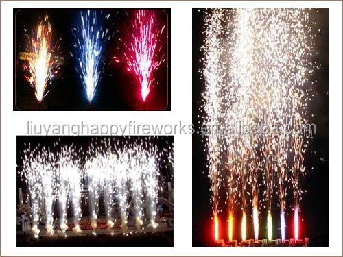 Cold/ice stage fireworks with color fountain 1.4G fireworks weddings special effects electric fireworks