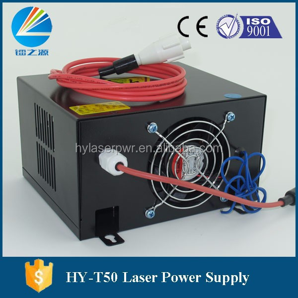 HY-T50 Co2 Laser Power Supply 50W for 40W and 50W Co2 Laser Tube