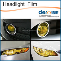 Fashion colorful car headlight protection vinyl wrap film