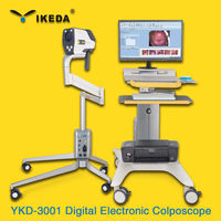 IKEDA 1080p image & video digital electronic colposcopy camera with SD-Storage