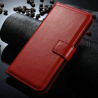 New Arrival Card Slot Flip Wallet Case Made in China for iPhone 6 Case Leather