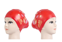 New Arrival Smart Design Silicone Swimming Cap For Long Hair