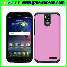 Factory price Shockproof TPU + PC Slim Armor phone case for ZTE Z959 Grand X3 Warp 7