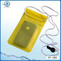 IPX8 water sports waterproof cover for iphone5