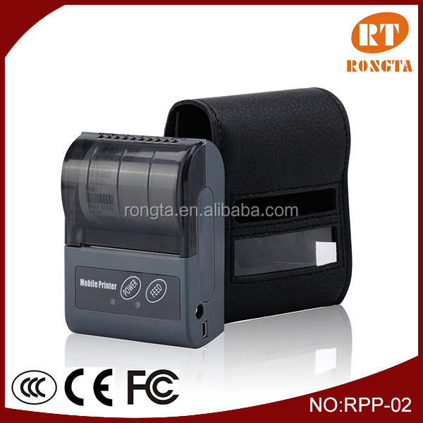 Portable Bluetooth Thermal Printer supports android phone and tablet RPP02N
