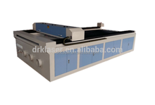 Hot Sale auto-feeding DRK1325 fabric-roll laser cutting machine CNC 80w 100w factory price