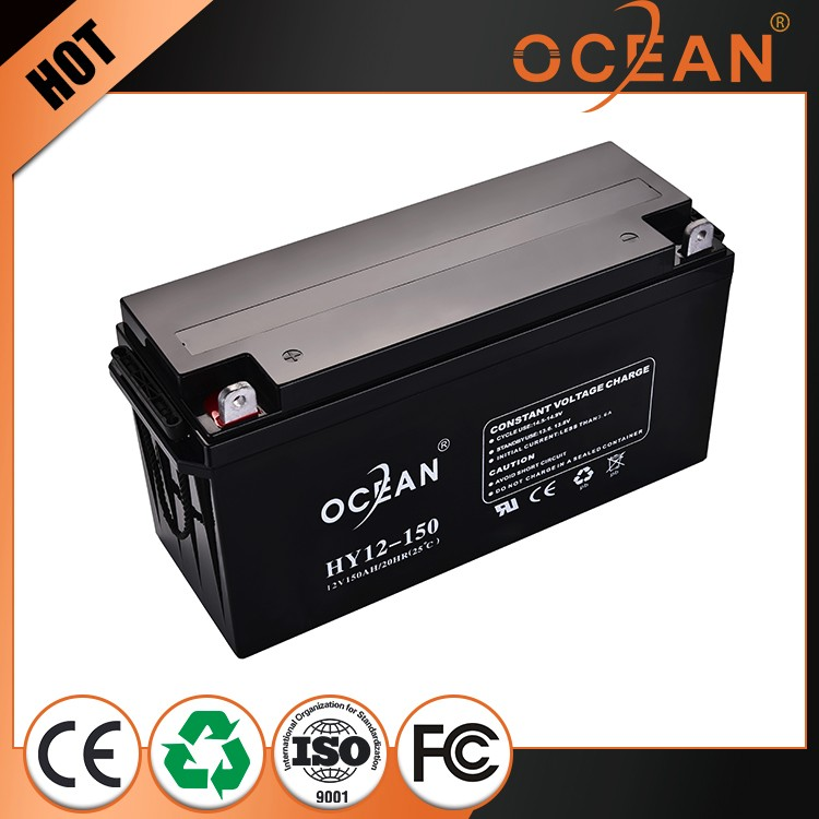 12V 150ah special design high quality most popular dry cell battery ups