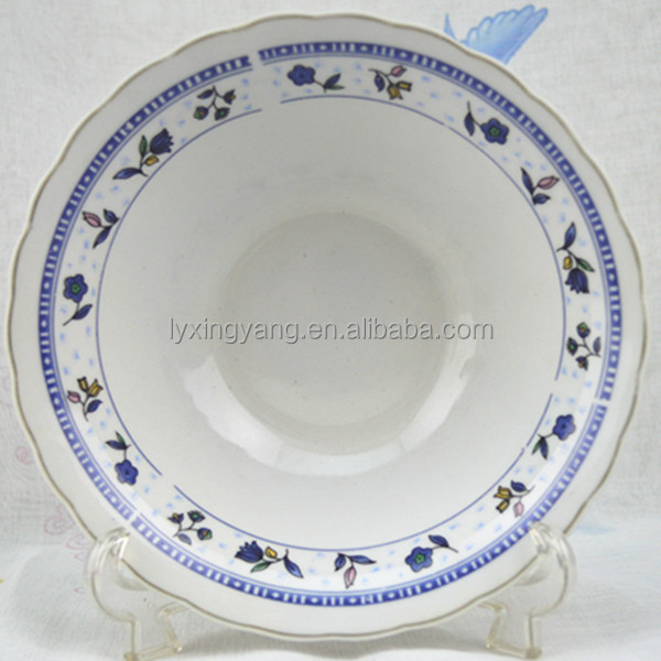7inch porcelainware bowl for Pakistan