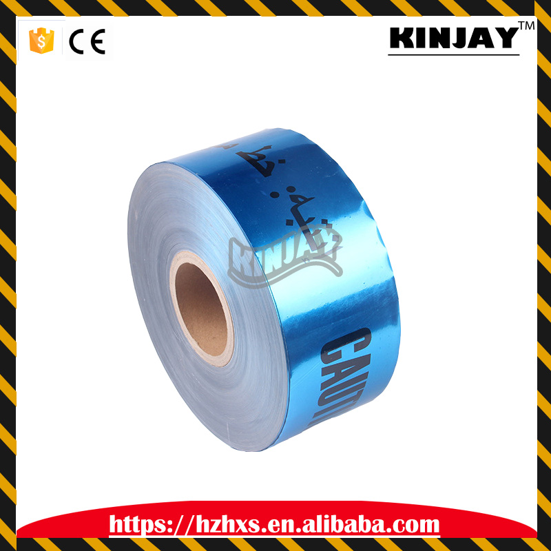 Wholesale Underground Detectable Caution PE Optic Cable Warning Tape