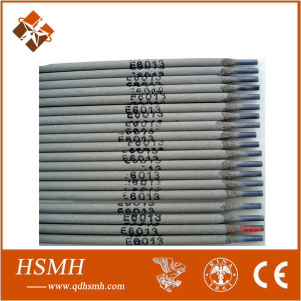 HSMH welding electrode e6013 price cheap AWS E6013 welding electrode famous name of weld rod
