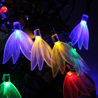 2016 Holiday Detector Christmas Led Light feather Led String light
