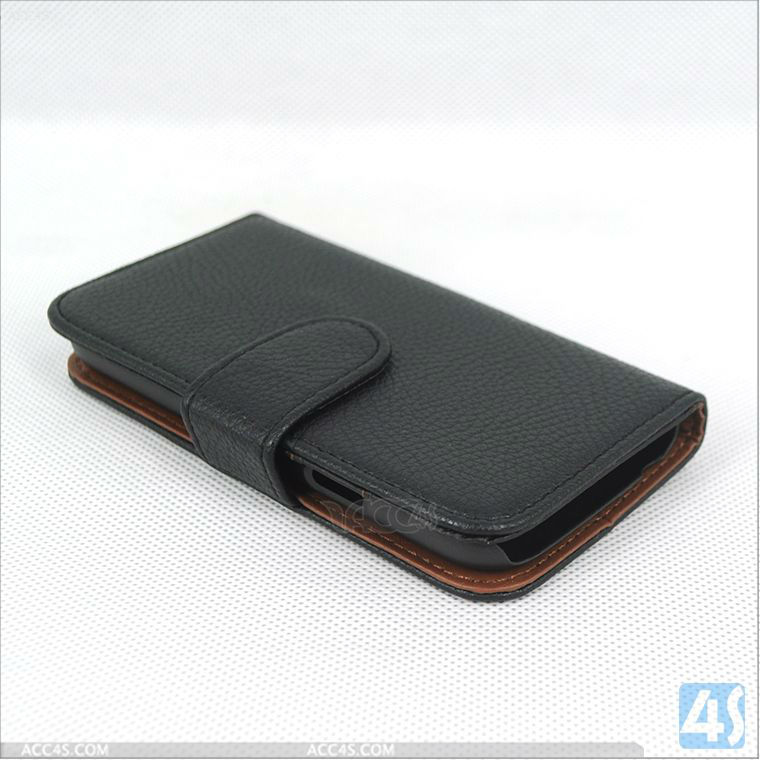 For Samsung Galaxy S4 Mini Cell Phone Pouches Leather Case P-SAMI9190CASE025