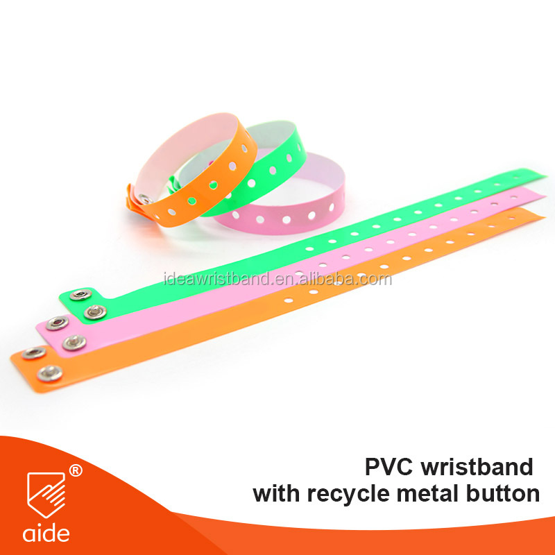 PVC material recycled for event plastic bands
