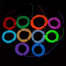 luminescent rope el neon wire