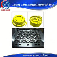 2015 new design end cap mold, high precision water cap mould,custom jelly caps mould