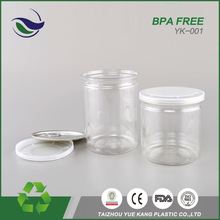 Penang malaysia quality pet bottle raw material canned green pea empty can for canned food packing