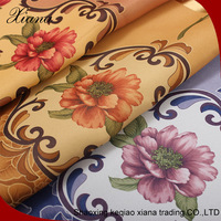 Beautiful hot selling fancy design blackout printed curtain